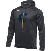 Hood River Boys Basketball 20: Nike Therma Men's Training Hoodie - Anthracite Gray