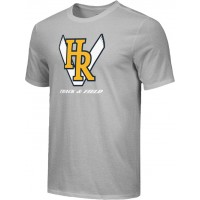 Hood River Track 16: Adult-Size - Nike Combed Cotton Core Crew T-Shirt - Gray