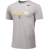 Hood River Track 10: Adult-Size - Nike Team Legend Short-Sleeve Crew T-Shirt - Gray