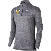 Hood River Track 24: Nike Element Women's Long Sleeve Running Half-Zip Top - Gray