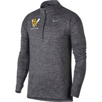 Hood River Track 23: Nike Element Men's Long Sleeve Running Top - Gray